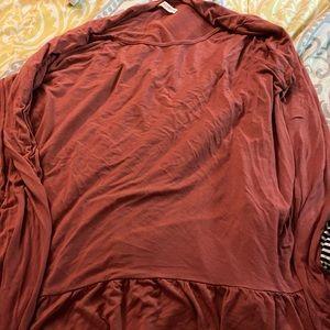 Rose colored tunic